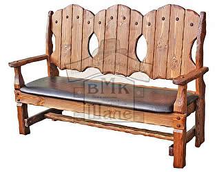 Купить скамейку ВМК-Шале Скамья-кресло Добрыня 1200