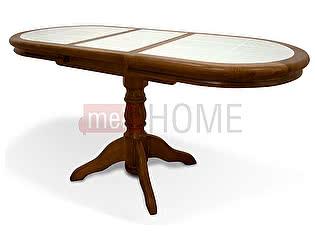 Купить стол ВМК-Шале Грэксон 1 овал обеденный раздвижной
