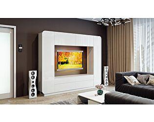 Купить гостиную ТриЯ Денди СМ-230.01.001 (белый глянец)
