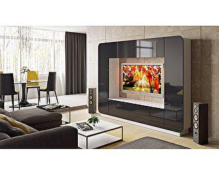 Купить гостиную ТриЯ Денди СМ-230.01.001 (черный глянец)