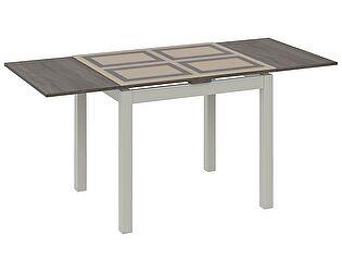 Купить стол ТриЯ Мельбурн раздвижной со стеклом, арт. СМ (Б)-100.05.12(1)