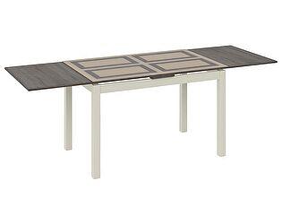 Купить стол ТриЯ Мельбурн раздвижной со стеклом, арт. СМ (Б)-100.11.12(1)