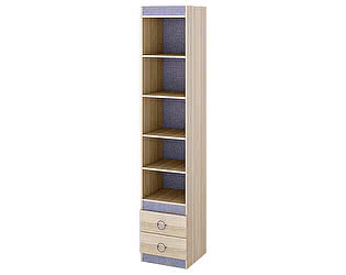 Купить стеллаж ТриЯ стеллаж Индиго ПМ-145.09 с полками для книг