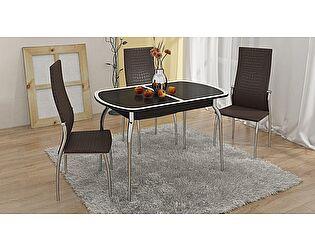 Купить стол ТриЯ Ницца с хромированными ножками, арт. СМ-217.01.1