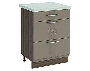 Купить стол Витра 60 3 ящика (с системой плавного закрывания) Афина-18, 18.91