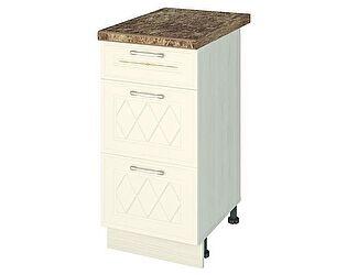 Купить стол Витра 40 3 ящика (с системой плавного закрывания) Тиффани-19, 19.90