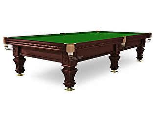 Купить стол WeekEnd бильярдный для русского бильярда Hardy 9 футов (черный орех, 6 ног, плита 38 мм)