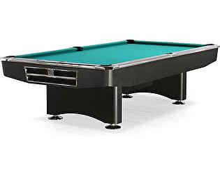 Купить стол Dynamic Billiard Organization бильярдный для пула Competition 9 футов (матово-чёрный) в комплекте, аксессуары + сукно