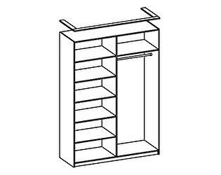 Купить шкаф Олимп-Мебель для одежды 06.38 (каркас)