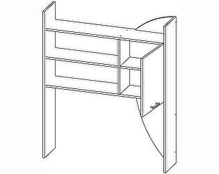 Купить полку Олимп-Мебель Секция с полками Лего-5