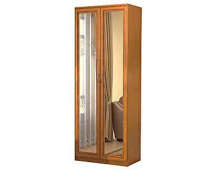 Купить шкаф Уют Сервис Гарун 101 для белья с 2-мя зеркалами