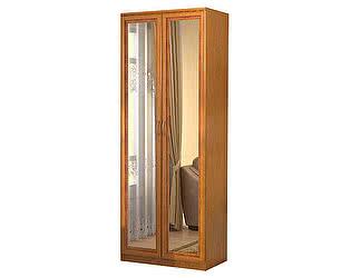 Купить шкаф Уют Сервис Гарун 102 для белья с 2-мя зеркалами