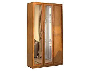 Купить шкаф Уют Сервис Гарун 106 для белья с двумя зеркалами