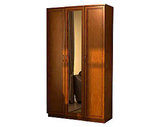 Купить шкаф Уют Сервис Гарун 106 для белья с одним зеркалом