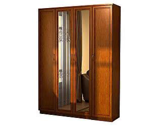 Купить шкаф Уют Сервис Гарун 109 для белья с двумя зеркалами
