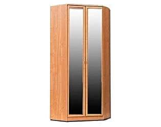 Купить шкаф Уют Сервис угловой 401 с 2-мя зеркалами