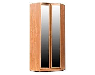 Купить шкаф Уют Сервис угловой 403 с 2-мя зеркалами