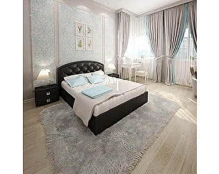 Купить кровать Армос Кристалл-3 со стразами