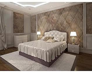 Купить кровать Армос Кристалл-4 со стразами