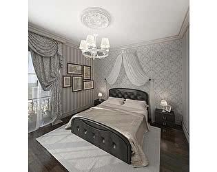 Купить кровать Армос Кристалл-5 со стразами