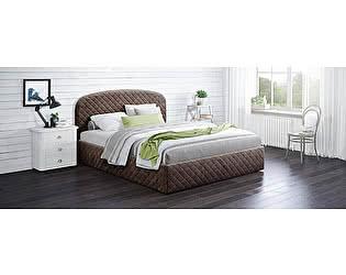 Купить кровать Moon Trade Аллегра 140х200 Модель 1204 (коричневый) с основанием
