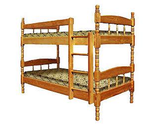 Купить кровать ВМК-Шале Скаут 2 двухъярусная