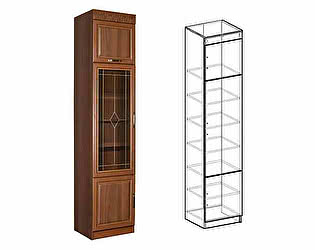 Купить шкаф Мебель Маркет Пенал Сенатор со стеклом