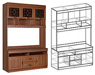 Купить гостиную Мебель Маркет Центральная секция Сенатор