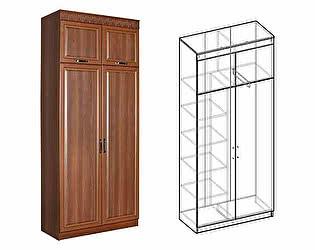 Купить шкаф Мебель Маркет Сенатор 2-х створчатый комбинированный