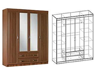 Купить шкаф Мебель Маркет Линда 4-х створчатый