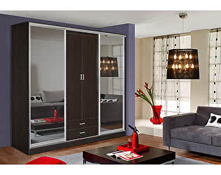 Купить шкаф Мебель Маркет Лорд 1.1 (Венге)