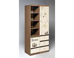 Купить шкаф Фанки Кидз Пираты ПР-02+ПР-04