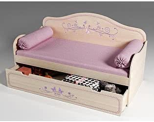 Купить кровать Фанки Кидз Лилак 40021 низкая