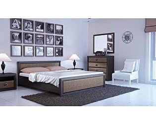 Купить спальню BRW Коен (штрокс темный)