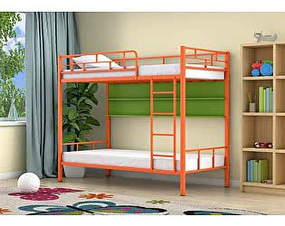 Купить кровать 4 Сезона Ницца (полка цветная) двухъярусная