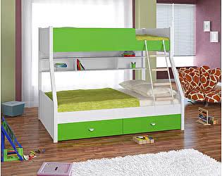 Купить кровать Белый слон Golden Kids 3 двухъярусная