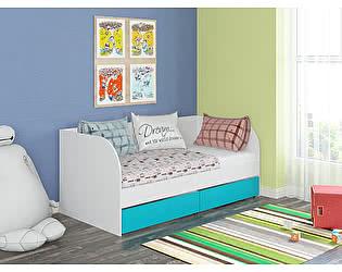 Купить кровать Белый слон Golden Kids 7 4S-GК 07-КБ/ФБ
