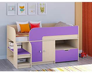 Купить кровать РВ Мебель чердак Астра-9 Дуб молочный V4