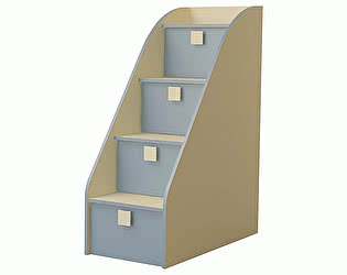 Купить лестницу Горизонт Лестница-комод Радуга