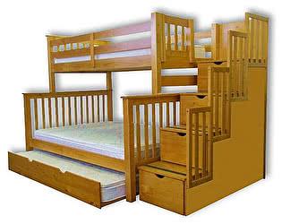 Купить кровать Велес-Арт Атланта-3 2х ярусная