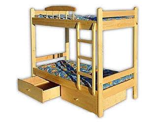 Купить кровать Велес-Арт Буратино 2х ярусная