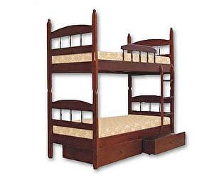 Купить кровать Велес-Арт Кузя-2 2х ярусная