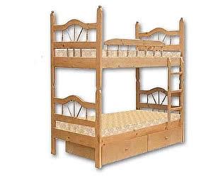Купить кровать Велес-Арт Луч-2 2х ярусная