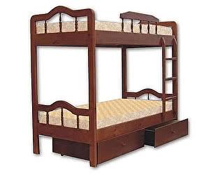 Купить кровать Велес-Арт Мальвина 2х ярусная