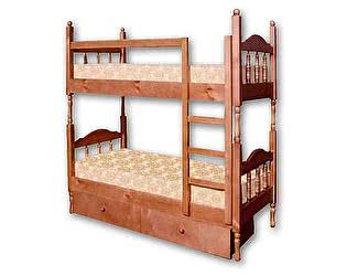 Купить кровать Велес-Арт Оскар-2 2х ярусная