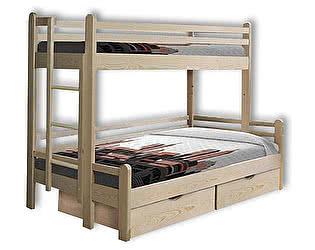 Купить кровать Велес-Арт Орленок 2х ярусная