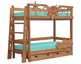 Купить кровать Велес-Арт Самолет 2х ярусная