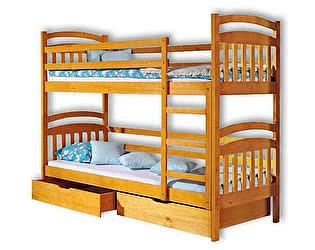 Купить кровать Велес-Арт Стелла 2х ярусная