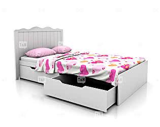 Купить кровать Tomy Niki Grace (90) 300A21 с 2я ящиками