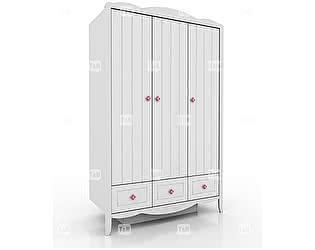 Купить шкаф Tomy Niki Grace 300E34 3х дверный с 3 ящиками